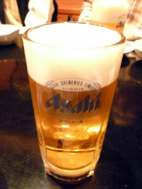 僕はどこでもビール ¥580−