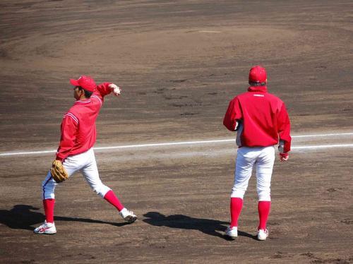 石田投手と林投手の出番は、今日はありませんかね。。。<br /><br />この二人の肩に、期待していますぜ。<br />