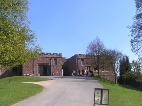 最初の目的地、ラピュタ城のモデルになったといわれるPowis Castleです。