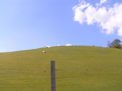 イギリスの田舎の風景が続きます。