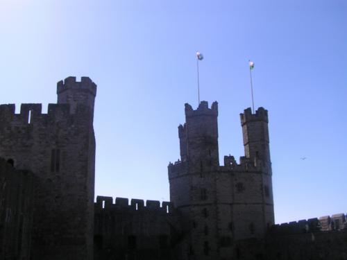 お城の塔。