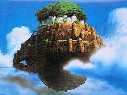 ラピュタ城。