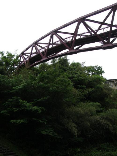 「あやとり橋」<br /><br />下から見ると、あやとり?って感じですが、