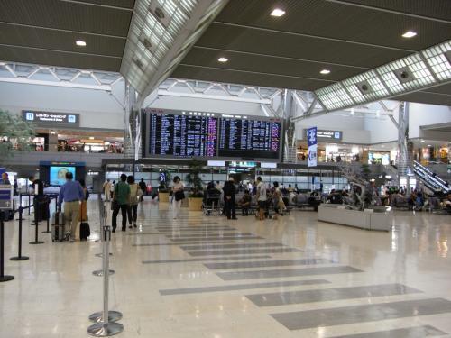 成田第2ターミナル。