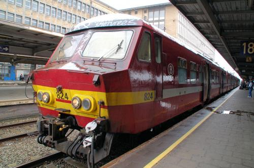 ベルギー国鉄はこんな顔をしている。