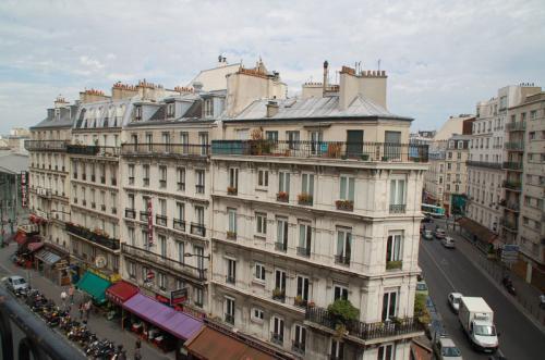 パリにやって来た! という喜びをかみしめている。