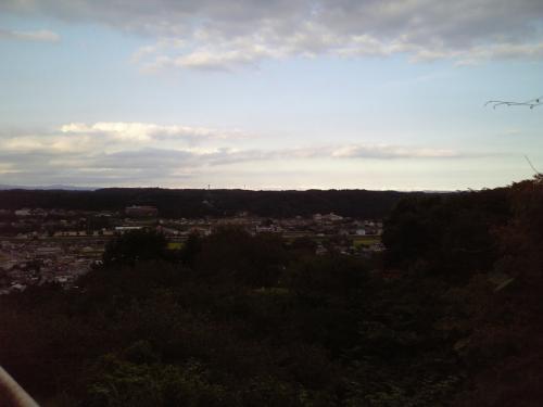 お丸山公園からの景色