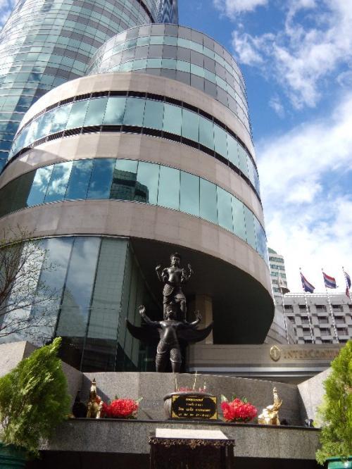 InterContinentalHotelBangokok<br /><br />7月に続いて、利用したのが、<br />インターコンチネンタルホテル