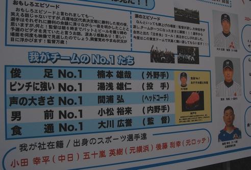 東京ドームには、このようなチーム紹介プレートが並びます。<br /><br />今年のは、なかなか面白い。