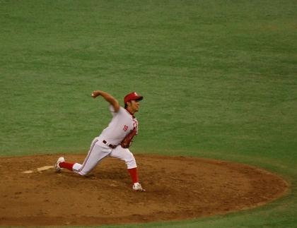 日本生命は、渡辺翔太投手が登板しました。<br />ドーム初登場、おめでとうございます!!<br /><br />頑張れ!翔太!!