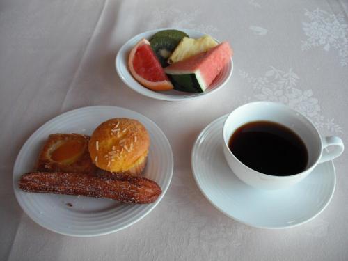 我々夫婦はフォーシーズンの朝食が気に入ったので滞在中、3回もこのレストランで朝食をとった。