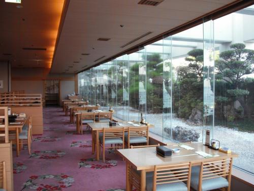 5連泊の滞在中に1回だけ日本料理「彩」(写真)に朝食を食べに行った。