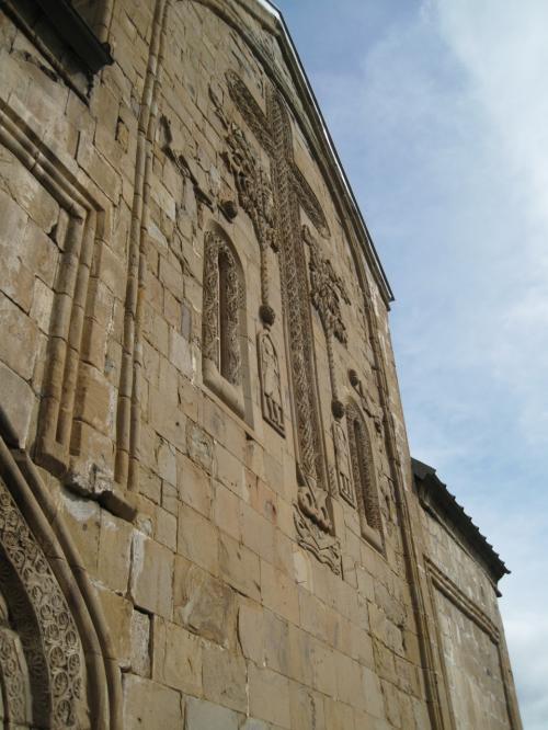 「聖ニノの十字架」が一時ここに保管された。<br />ジョージアがペルシア人やオスマン人からの侵攻の対象となった際、十字架はより安全な場所へと移された。<br />ゲルゲティ・トリニティ教会、アナヌリ教会、最終的にモスクワへと移されたが、現在はトビリシのスィオニ大大聖堂で保管され続けている。<br />