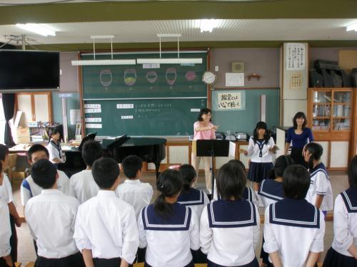 文化祭での合唱がうまくいきますように!<br /><br />※結果は6クラス中 2番〜