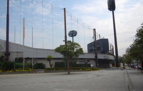 決戦の地。<br /><br />大田スタジアム。