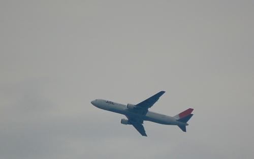 近くに羽田空港。<br /><br />朝の時間帯、次々と飛行機が離陸して行きます。