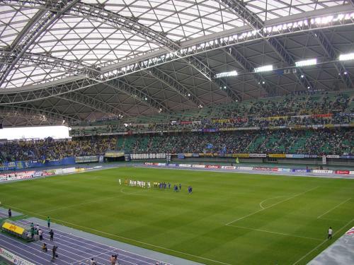 2002日韓ワールドカップ開催地[九州石油ドーム]。<br /><br />'08年J1リーグを観戦しました。<br /><br />【アクセス:http://www.oita-sportspark.jp/access/parking.html#kouenmap】