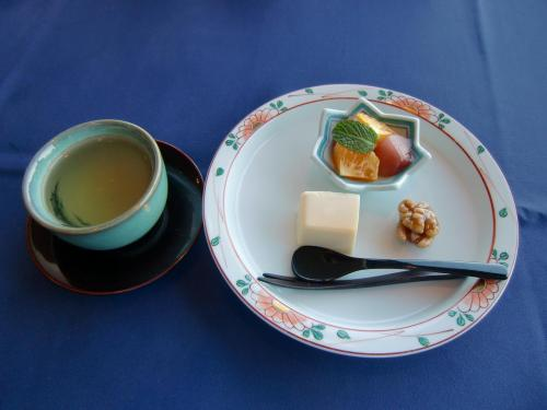 写真:「ヘルシー御膳」のデザート