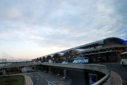同じく、空港T2もパチリ!