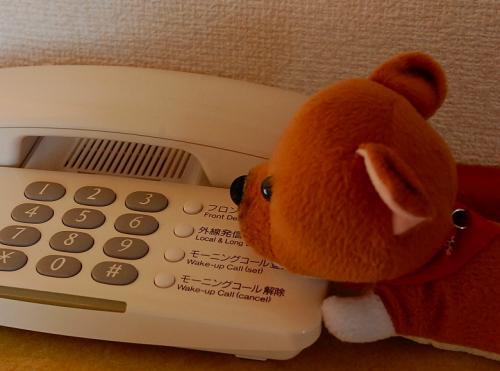 「電話がかかってきたら、おれがとる!」しばた<br /><br />