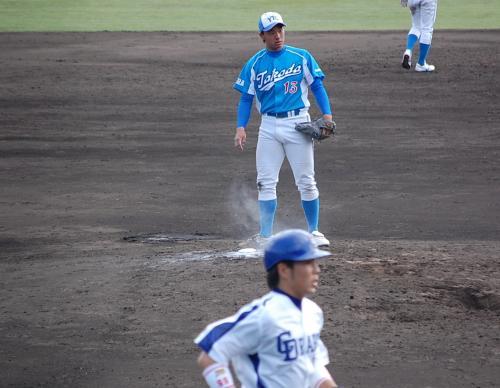大和高田クラブがドラゴンズに挑むも、6-1で敗れました。<br /><br />いい試合でしたよ。<br />