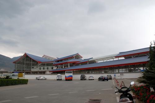 新空港ビルエリア。<br /><br />この感じが特徴があって良いと思います。