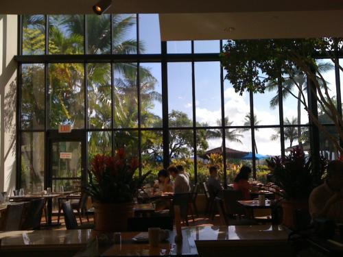 朝食を食べたレストラン。<br />いい雰囲気。