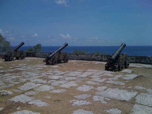 ソレダッド砦。いい眺め。かつて砦を築いたのもうなずける。