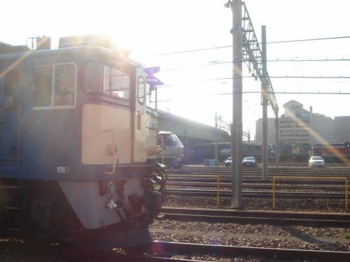 JR貨物稲沢駅にやってきました。<br />貨物駅ですので、普段は立ち入れません。<br /><br />この日は年に1回くらいある一般公開の日です。