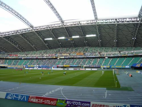 開放感のあるスタジアムです。<br /><br />さすがワールドカップ開催スタジアムだけあります♪