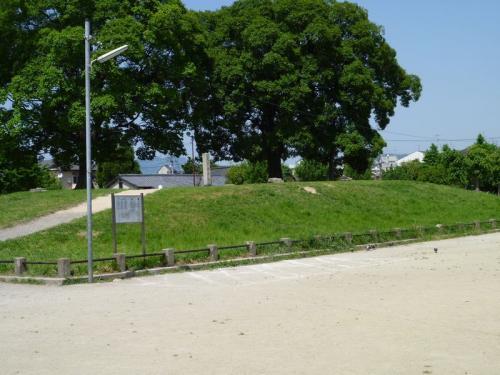 公園の真中に小高い丘があります。<br /><br />
