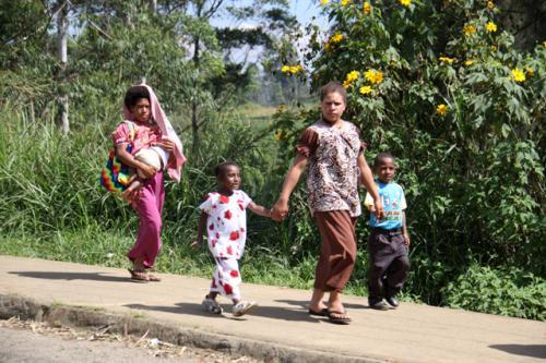 パプアニューギニアの人々