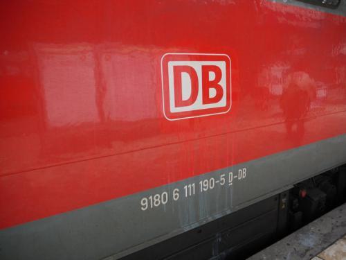 これは、ドイツ国鉄であるDBのマーク。