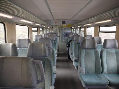 別の列車に乗り換え、ウエッツラーを目指す。
