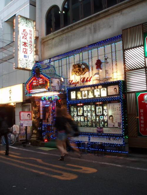 夜は歌舞伎町探検!<br />・・・といっても、ホストクラブの看板を見つけて喜ぶくらい。