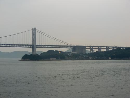船のルートは瀬戸内海から長崎付近通って、中国にたどり着くかんじ。