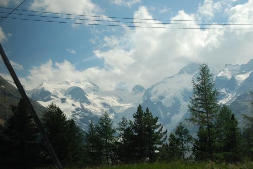 モルテラッチ氷河。