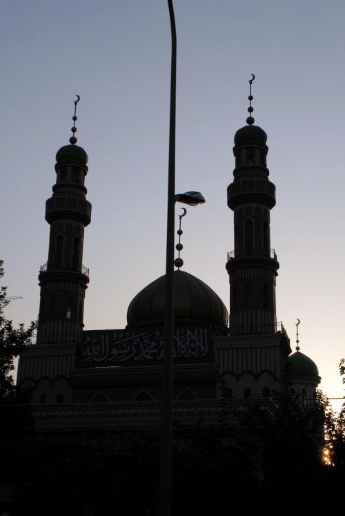 モスクで何を崇拝し、何を信じ、何を守って居るんでしょうね。<br /><br />運チャンは漢族。<br />未だにギクシャクしてて、両族の交流は少ないそうです。<br /><br />カメラを見て色々聞かれましたが、彼も好きなんだそうです。