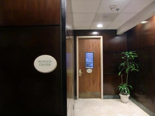 ホテル1階にビジネスセンター(写真)がある。