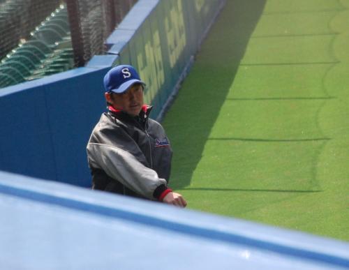 石田投手の出番は、この日は無し。<br /><br />まだ、寒いですからね。