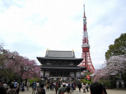 うん!<br />東京タワーをバックに<br />なかなかのところです<br />
