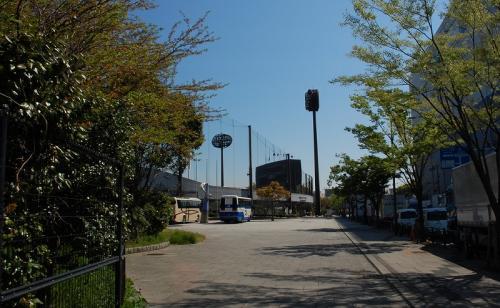 社会人野球のメッカ(?)大田スタジアムがあります。