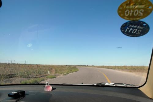 トイレ休憩の後、ドコへ行くのかは知りませんが、車は岳普湖方向へと向かって走っております。