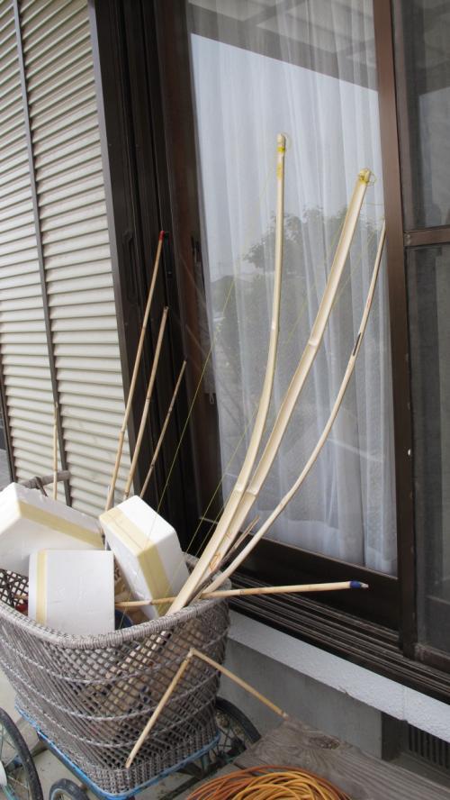 弓矢<br /><br />子供のリクエストで制作したが<br />上達したら矢ガモができそうで<br />ちょっと不安ですね
