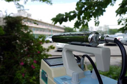 放射線被爆で気になるのは子供達 <br /><br />福島第4小学校にやってきました