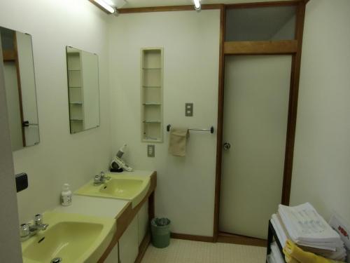 民宿並に広い洗面所。