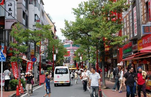 欽ちゃんって、やっぱり凄い人だ!と思いながら、ラーメンを食べに中華街に入る。