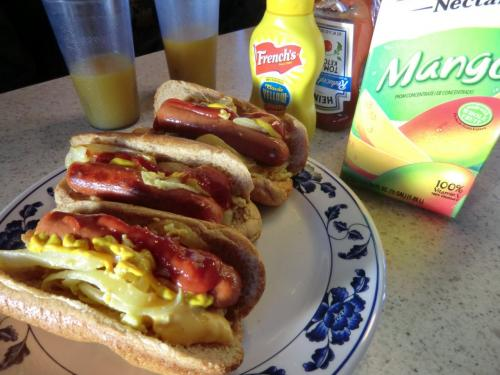 モーターホームの旅2日目。<br />モーターホームの旅は朝が早い!<br />そして、アメリカに来たらやっぱりホットドッグ☆<br />朝食はほとんど自炊して食べていました。