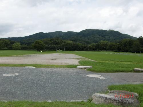 大宰府の政庁跡にも行きました。