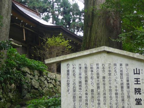 延暦寺に入ってきました。<br />前回は延暦寺の東塔方面でしたが、今回は西塔方面へ行きます。<br />山王院堂です。智証大師のお住まいだったところだそうです。